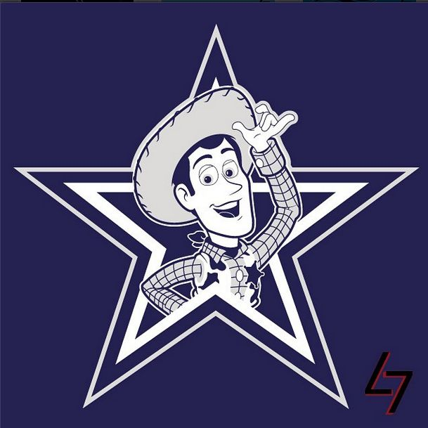 The Dallas Cowboys and other NFL teams' logos �� if they were ...