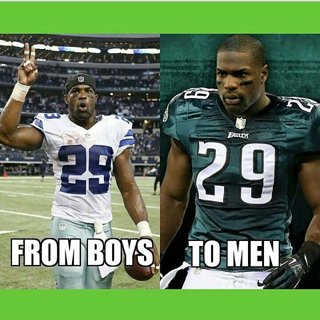 Good Eagles Memes The 15 best memes after demarco murray flew from ...