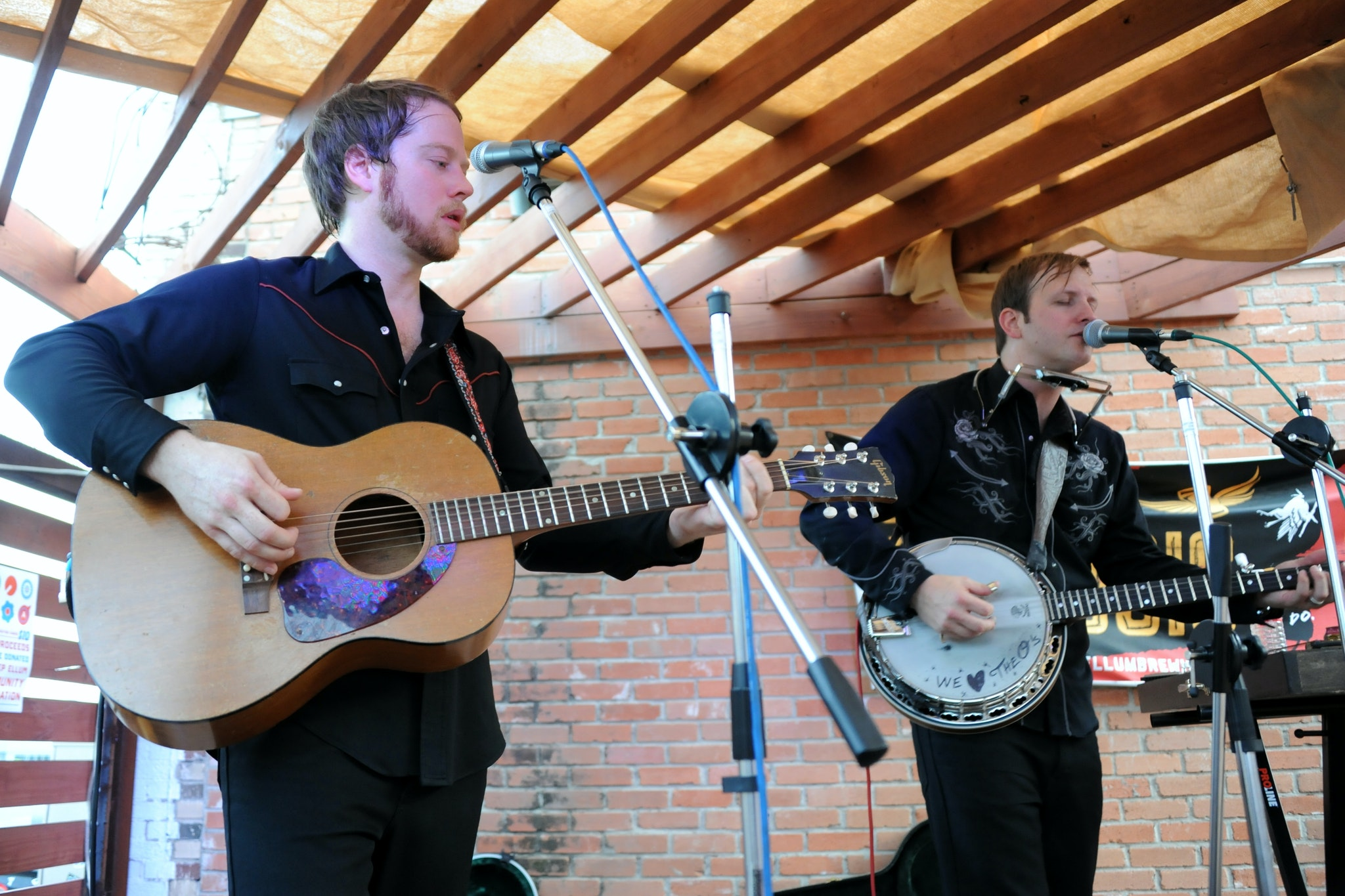 Taylor Young and John Pedigo of The O's will perform at a free show in Sammons Park on May 28.