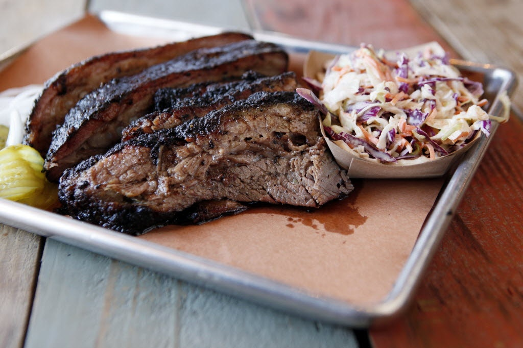 Pecan Lodge is one of Dallas' most popular barbecue restaurants for brisket. Ben Torres/Special Contributor
