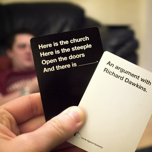 Cards Against Humanity: 'a Party Game For Horrible People