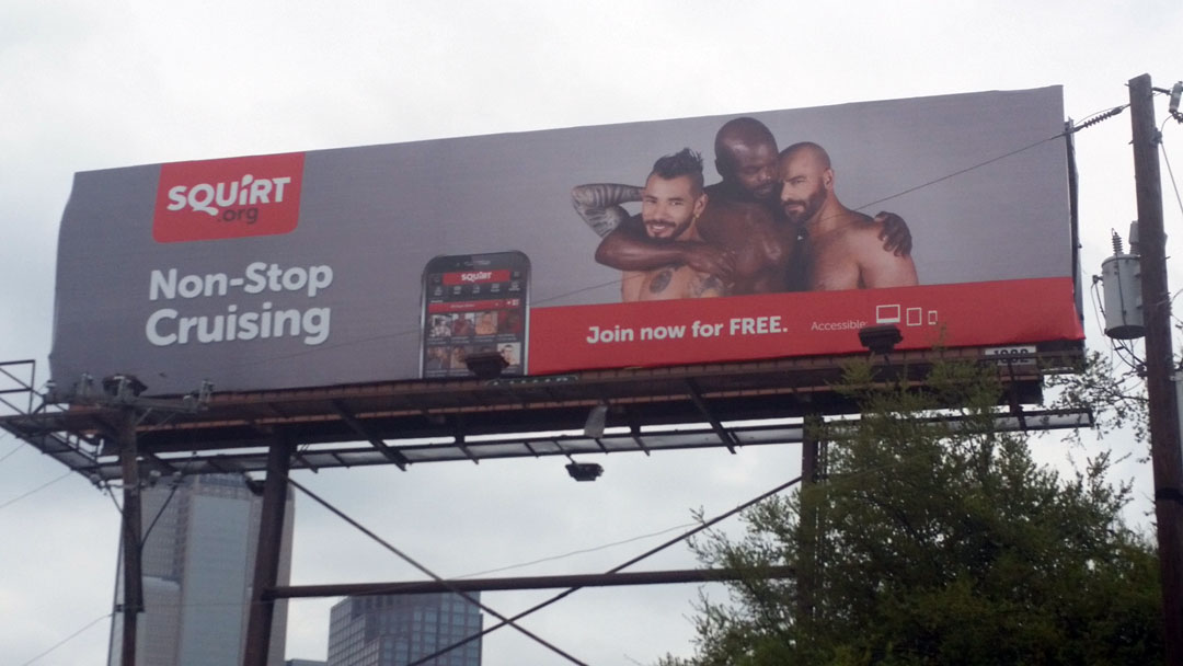 Gay sex cruising app puts billboard up in Dallas | GuideLive
