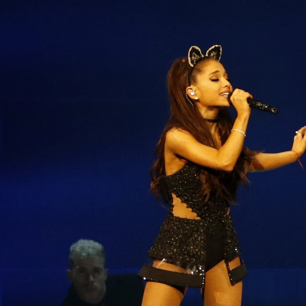 Cat-eared star Ariana Grande puts powerful voice to work for an adoring Dallas crowd