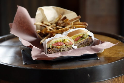 The cheeseburger and fries at K.T. Burger use the same recipes as Katy Trail Ice House.