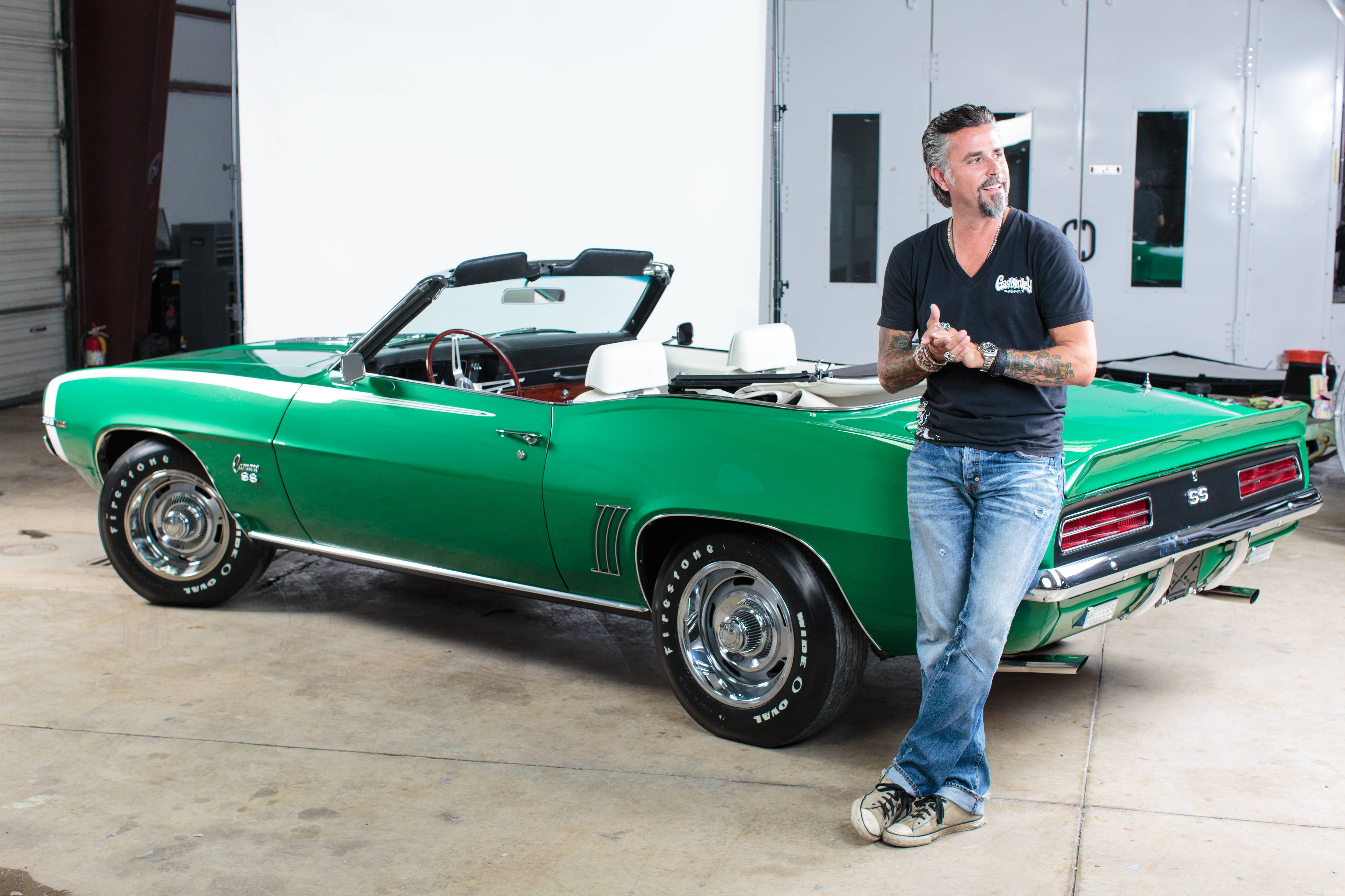 Gas Monkey Richard Rawlings gives peek under the hood of new Fast N