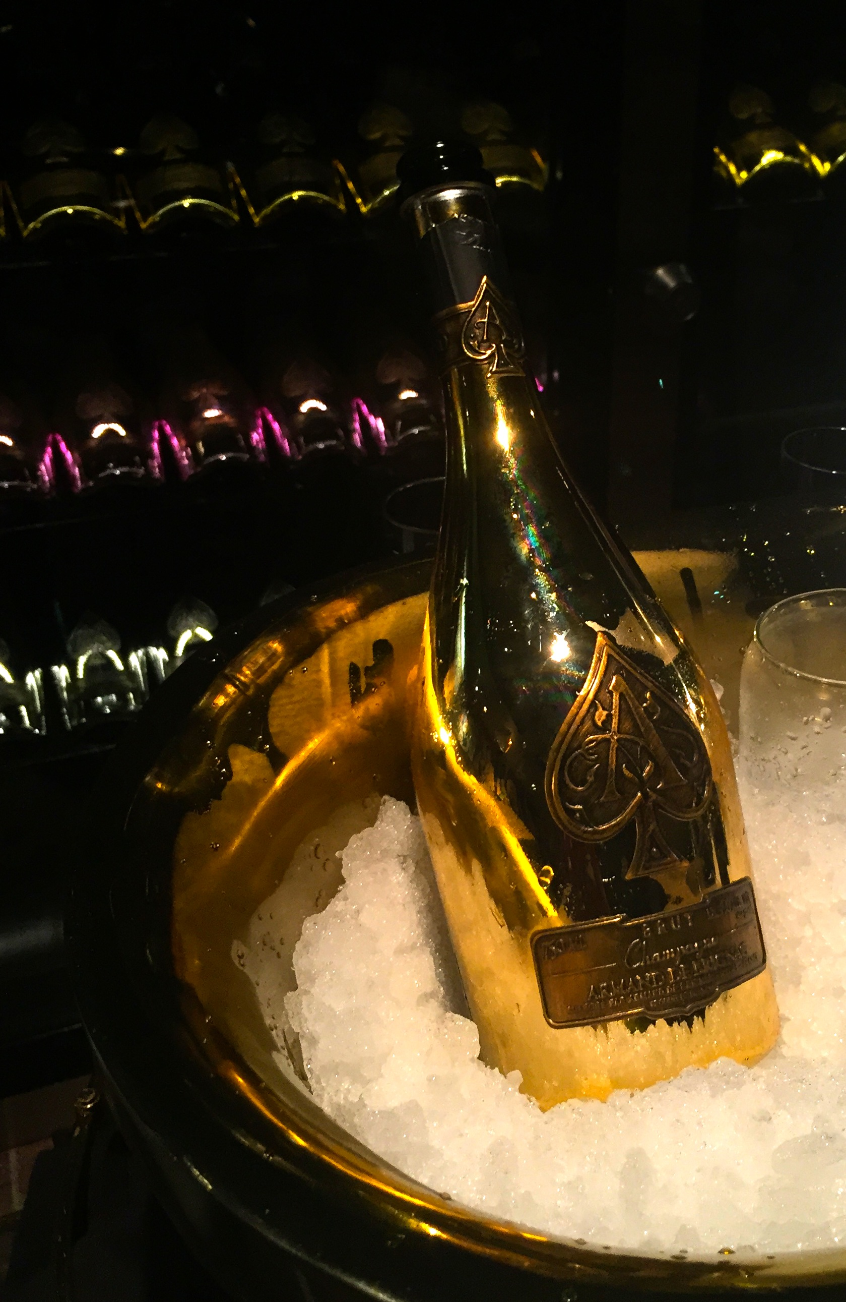 This is so Dallas: Nick & Sam's sells $150 glass of Champagne