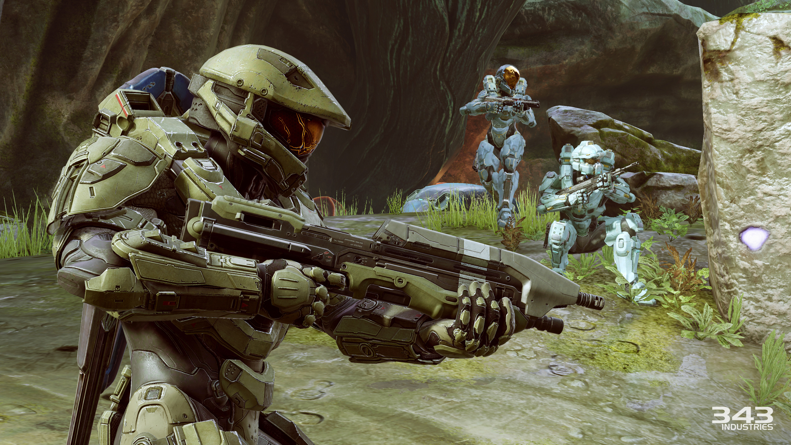 Better environments, bigger cast help make 'Halo 5' better
