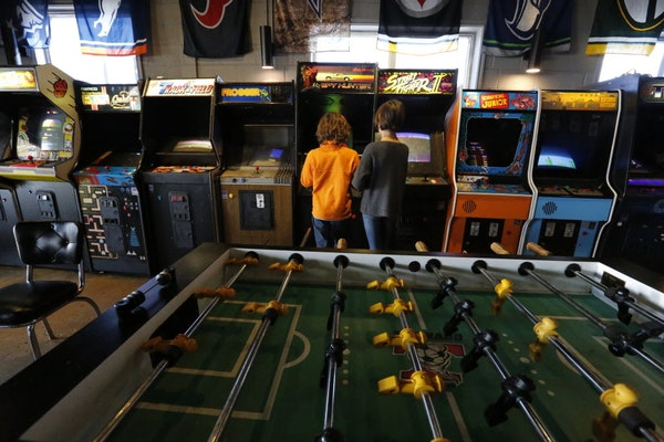 Where to play arcade games in D-FW