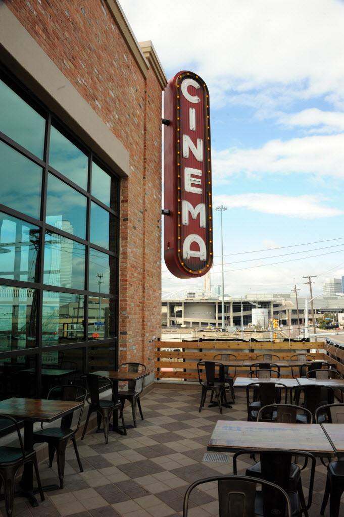 Now open: Alamo Drafthouse's new patio bar with killer