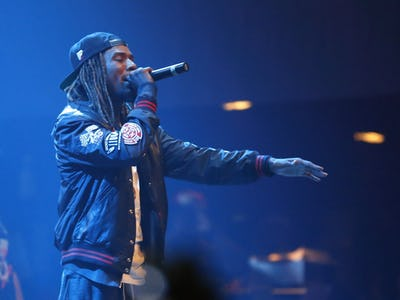 Post Malone took a victory lap and Fetty Wap dropped a brand