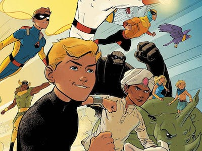 Jonny Quest, Space Ghost and Birdman collide and more in
