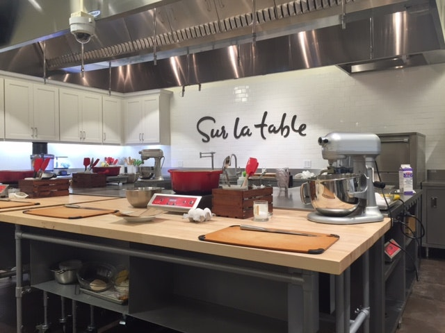 Sur La Table Just Opened Its New Store, Complete With A Fully Equipped  Kitchen For