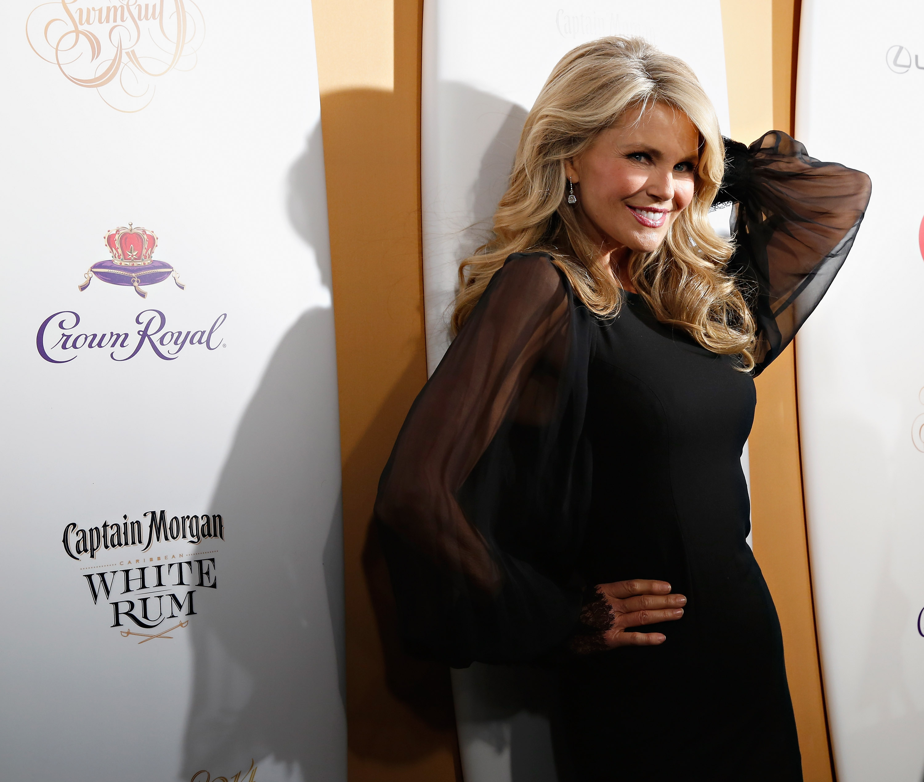 supermodel christie brinkley rode a horse to the southlake launch of