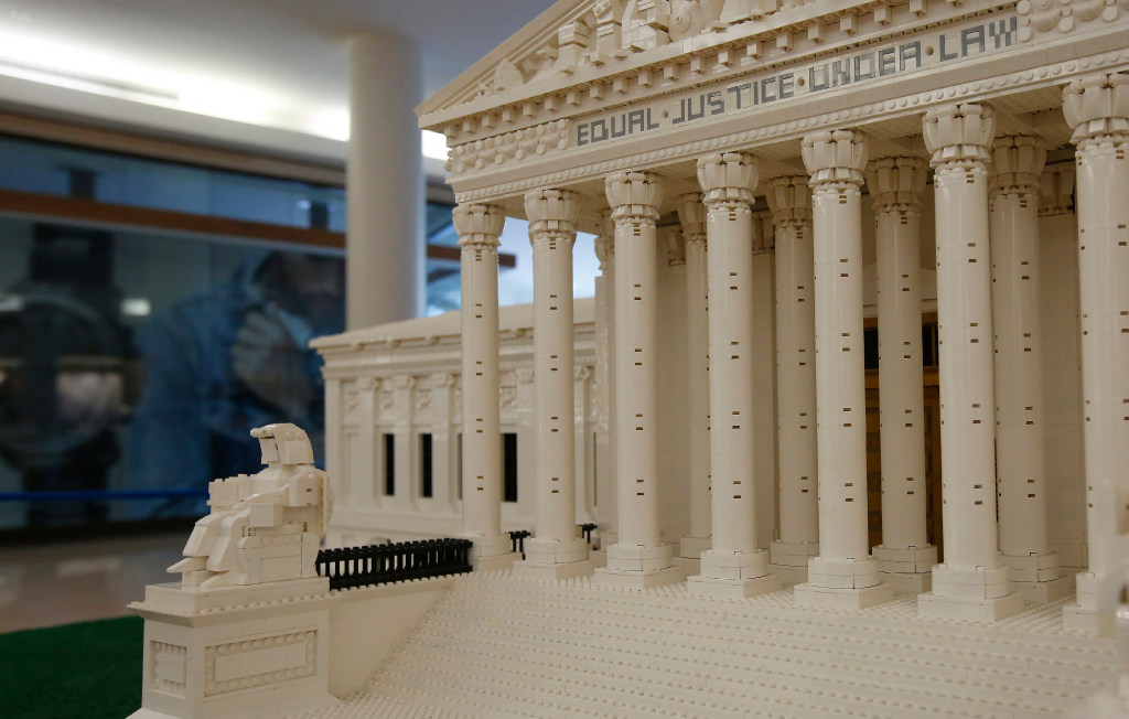 Photos: See what iconic US landmarks look like in Lego form | GuideLive