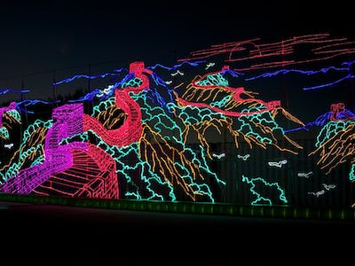Huge New Holiday Light Displays Headed For Dallas Arlington And