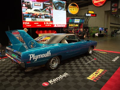 See the 10 most expensive cars at the Mecum Auction in Dallas