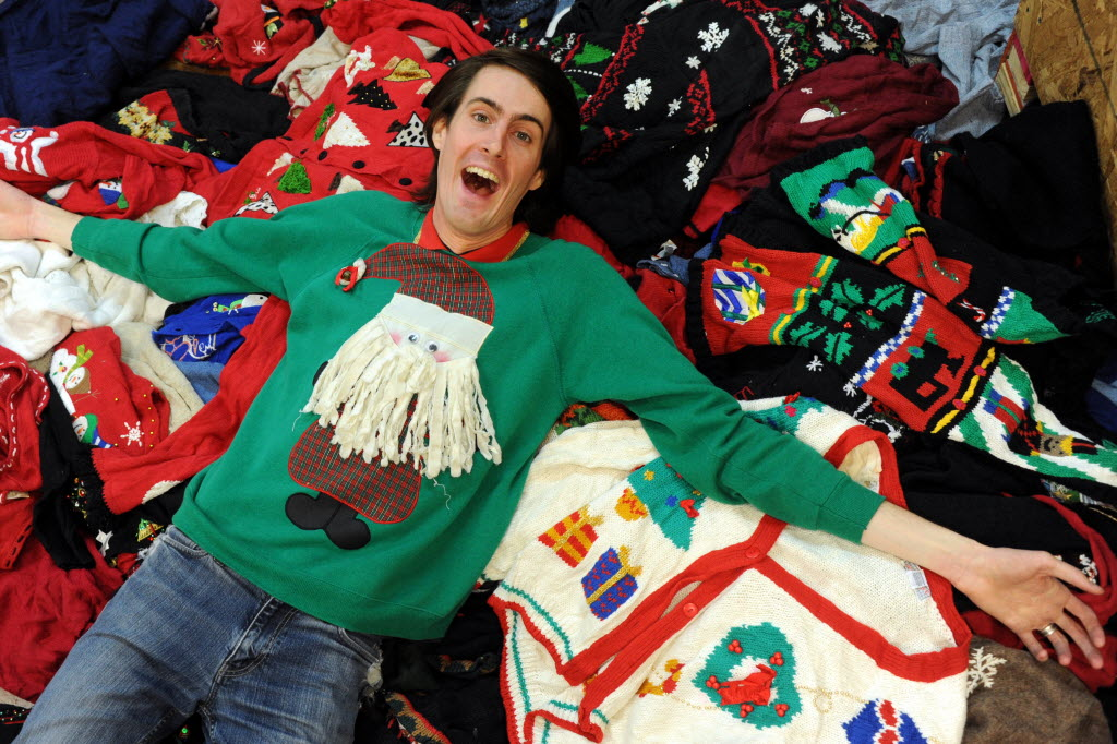 Stores Dedicated To Tacky Christmas Sweaters Pop Up In Dallas And