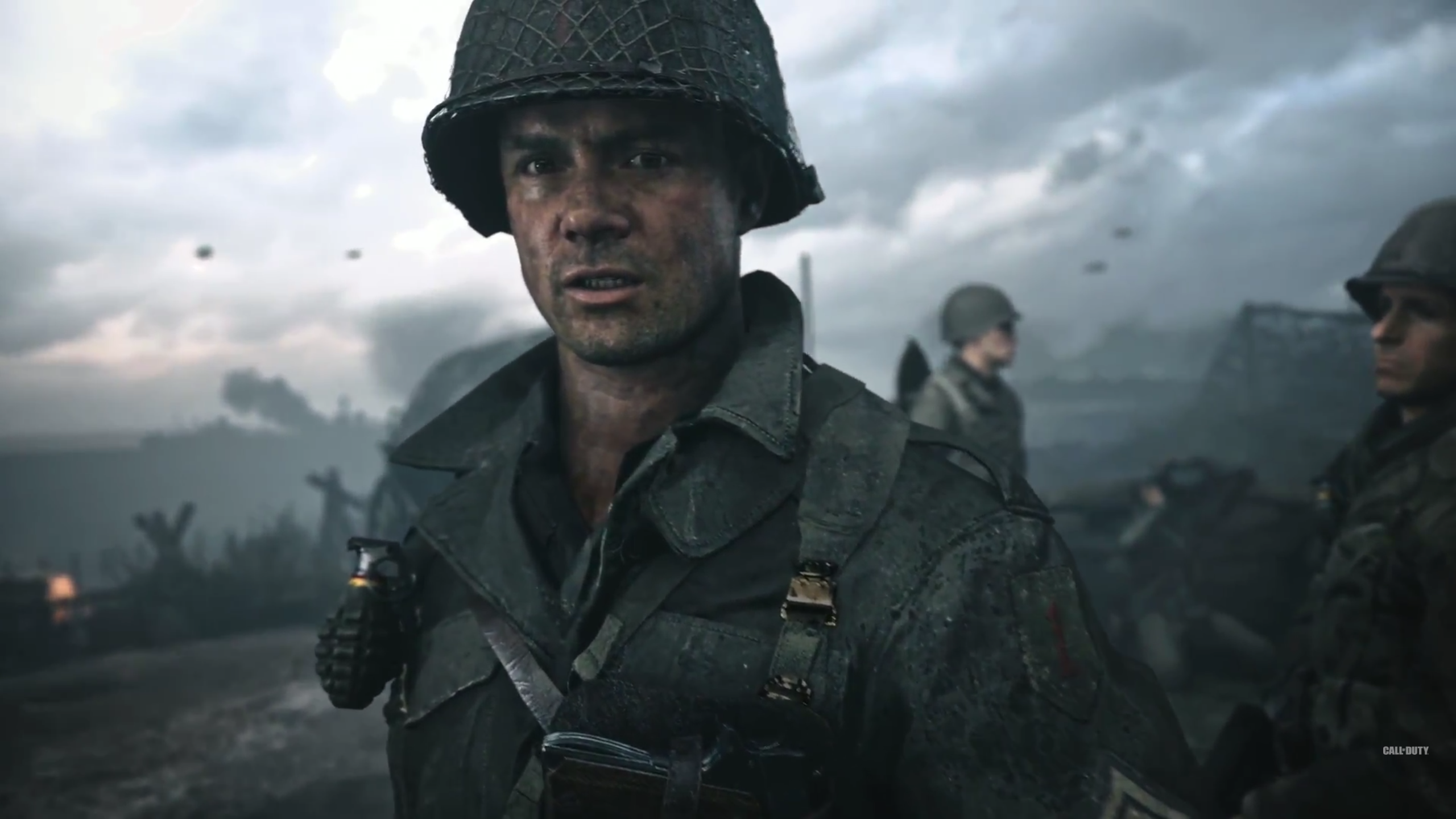 Call Of Duty Wwii Is A Safe Cinematic Experience In An Age Of
