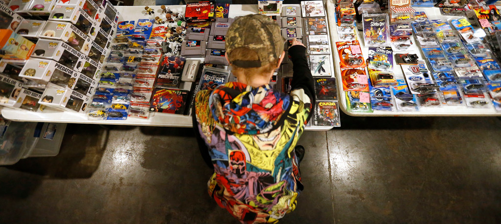 The North Dallas Toy Show is full of opportunities for nostalgia