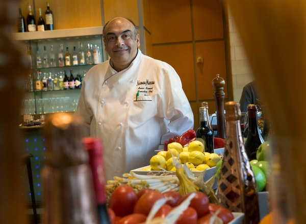 Avner Samuel is back, making food as stylish as the fashion at Neiman Marcus in Plano
