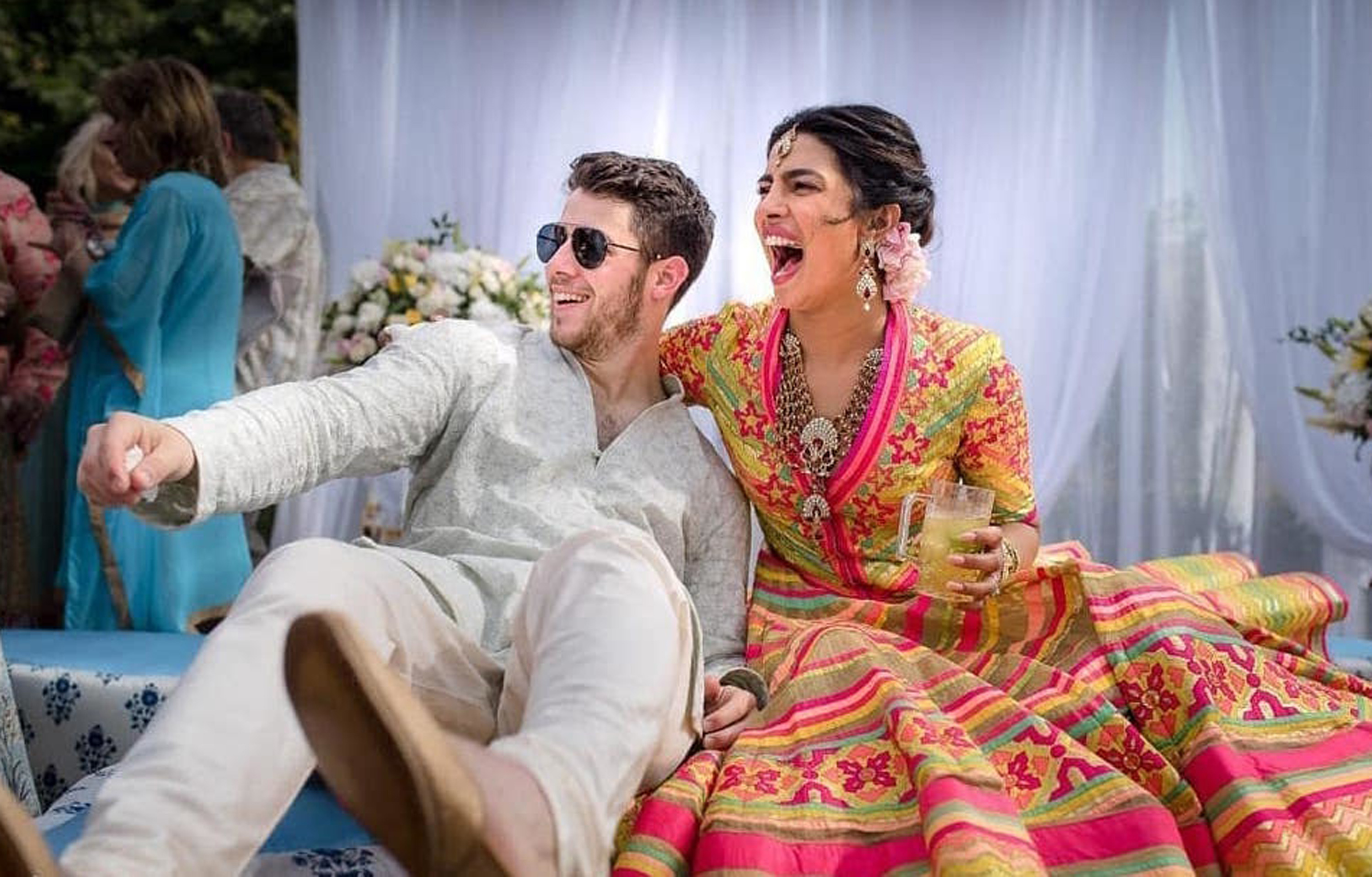 8 Photos From Priyanka Chopra And Nick Jonas Colorful Four Day