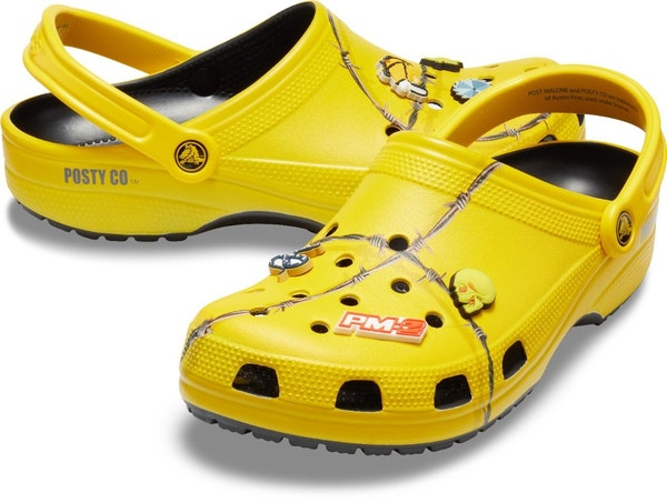 Rapper Post Malone's $60 Crocs shoes are sold out. Sorry?