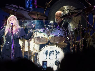 Fleetwood Mac played a landslide of greatest hits at Dallas concert