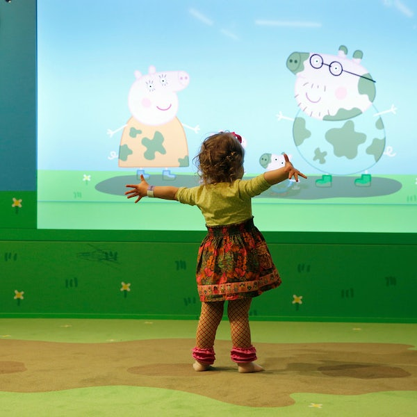 Kids are already going wild for the new Peppa Pig playplace in Grapevine