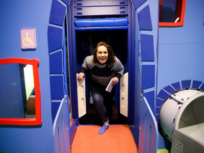 Kids Are Already Going Wild For The New Peppa Pig Playplace In