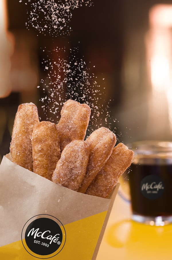 As of today, McDonald's is selling doughnuts in North Texas