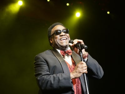 Soul music legend Al Green still hits the high notes, even if he often