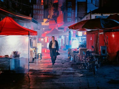 Chinese director's neon-lit movie hits Dallas and is guaranteed to take